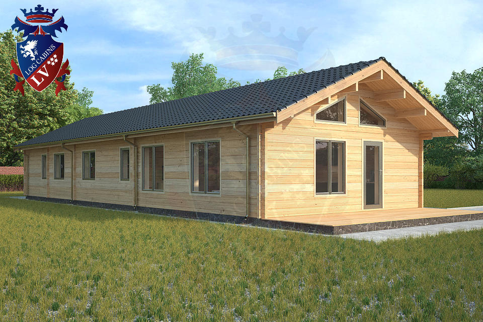 Residential Log Cabin manufacturer