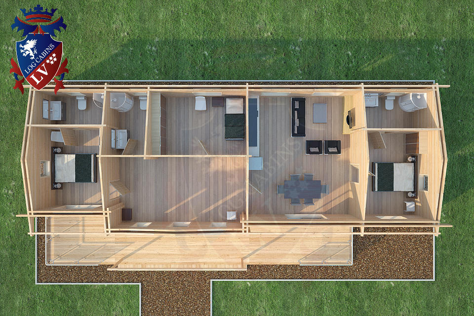 Log Home Floor Plans Uk