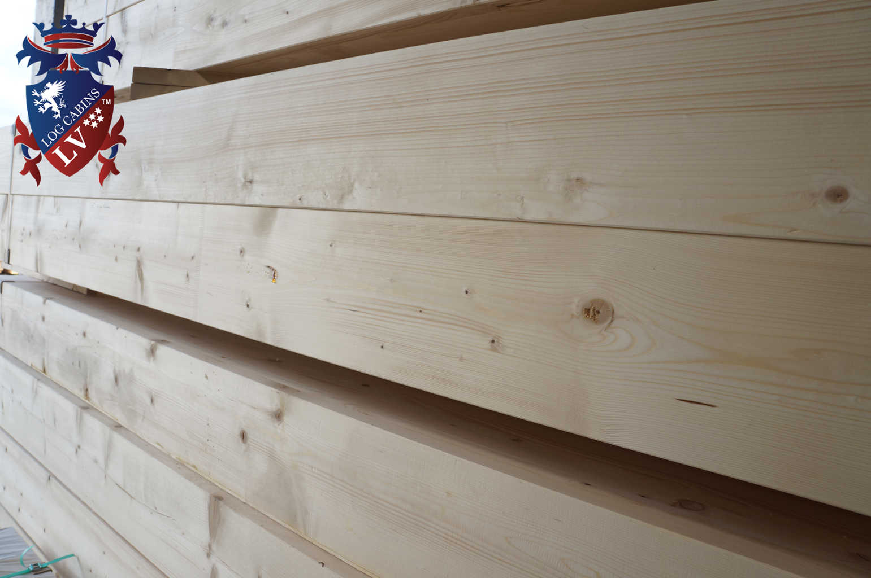 Residential Park Home Glulam Log Cabins