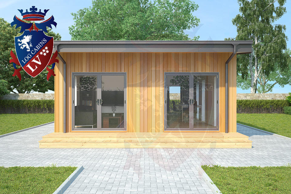 Residential Park Homes by logcabins.lv  3