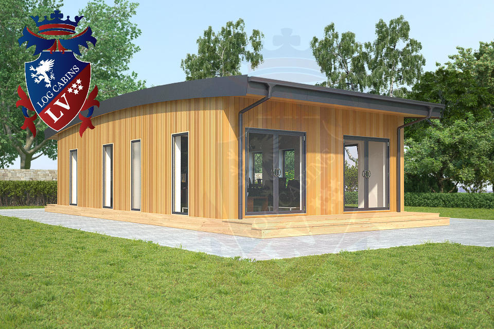 Residential Park Homes by logcabins.lv  6