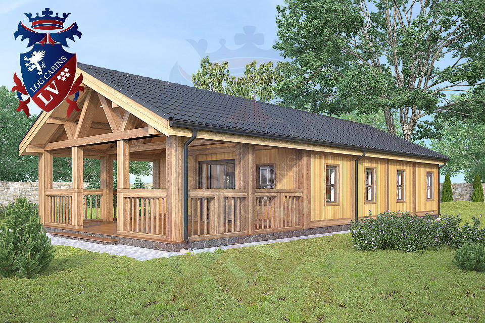 Residential log cabins  1065