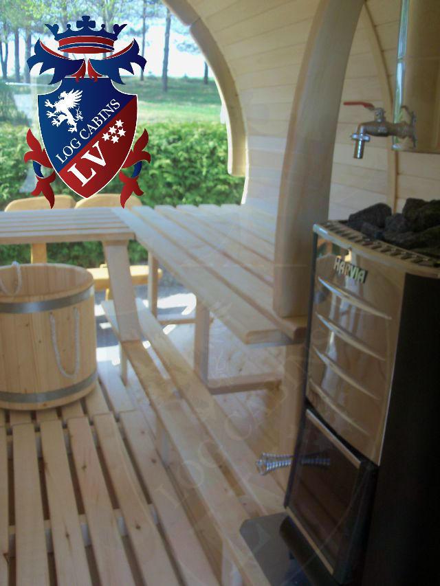 Sauna Barrels by logcabins.lv  57