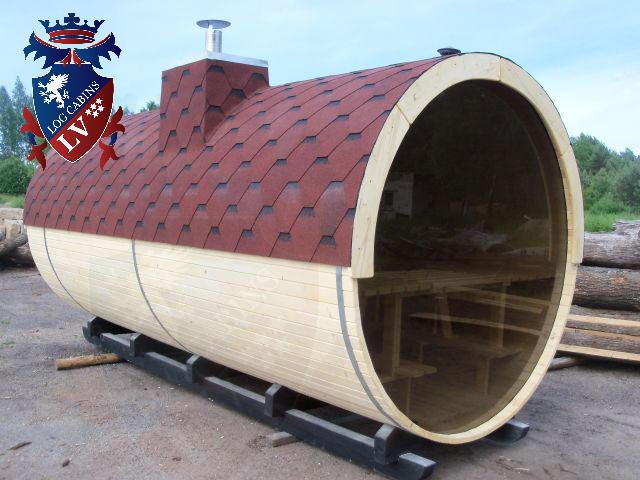 Sauna Barrels by logcabins.lv  58