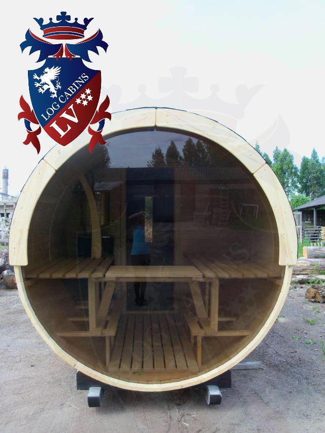 Sauna Barrels by logcabins.lv  59