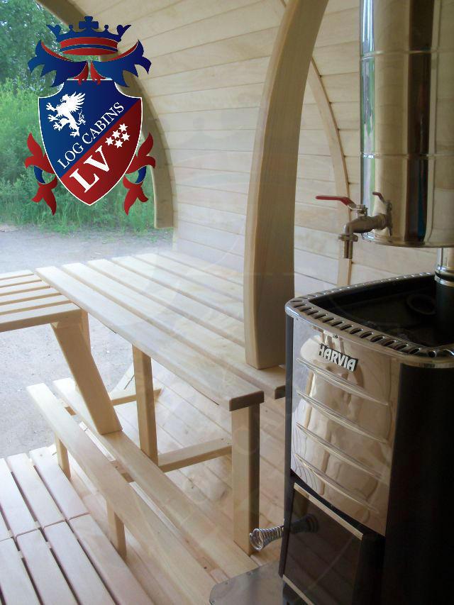 Sauna Barrels by logcabins.lv  60