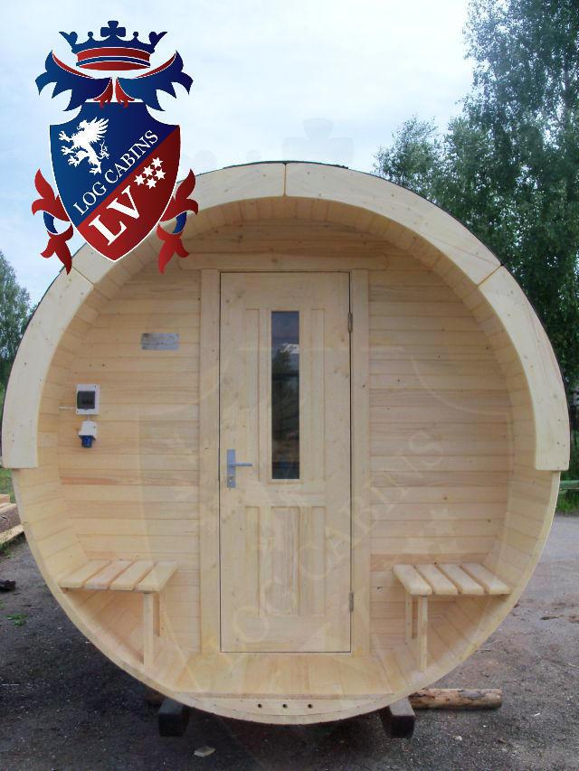 Sauna Barrels by logcabins.lv  62