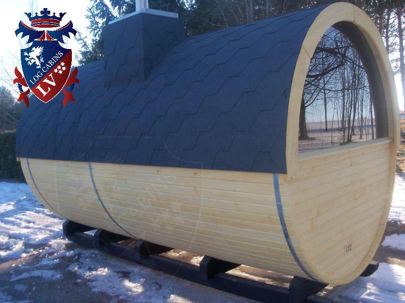 Sauna Barrels by logcabins.lv  63