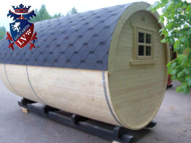 Sauna Barrels by logcabins.lv  66