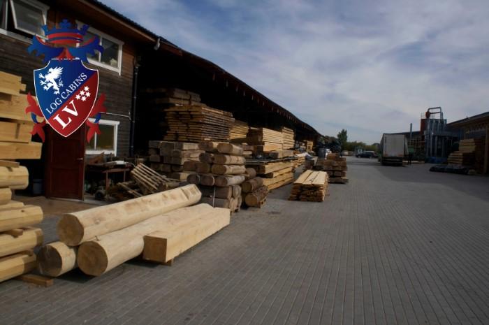 Scandinavian Log Cabins  057