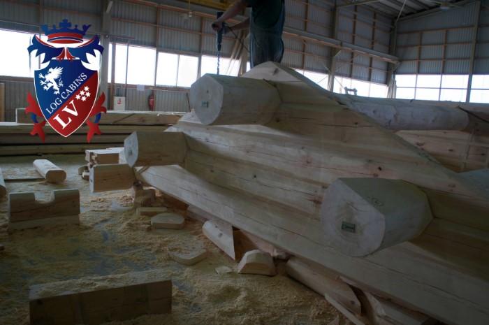 Scandinavian Log Cabins  219