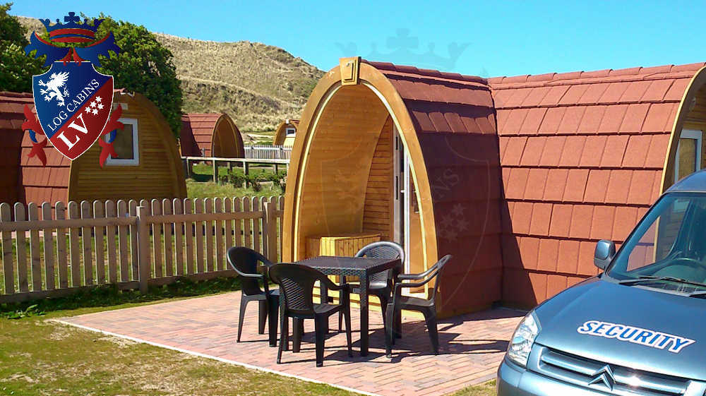 St Ives Camping Pods 2