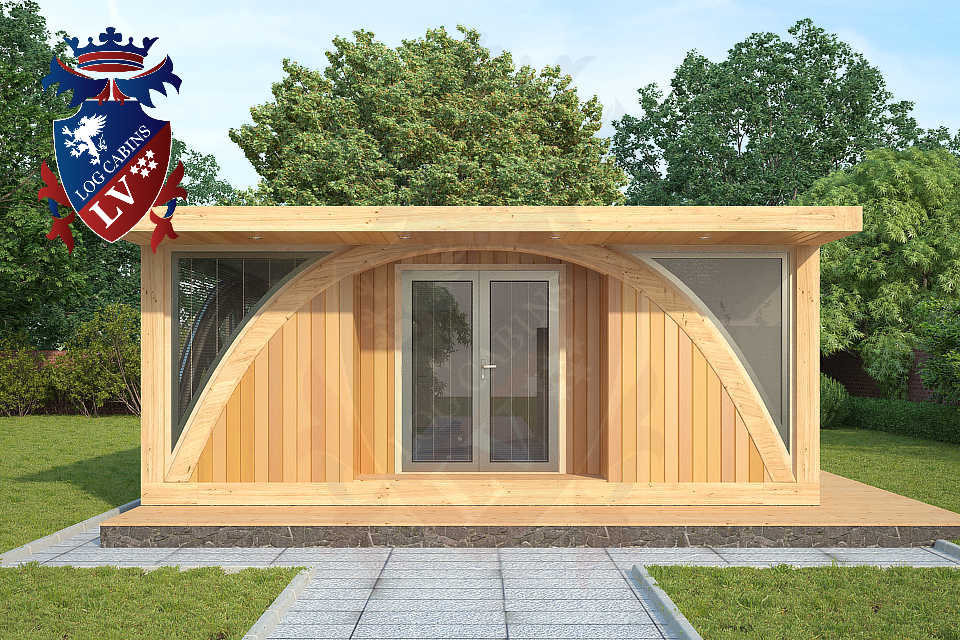 SunShine 2 bedroom Timber Frame Lodge 6m x 9m   0466