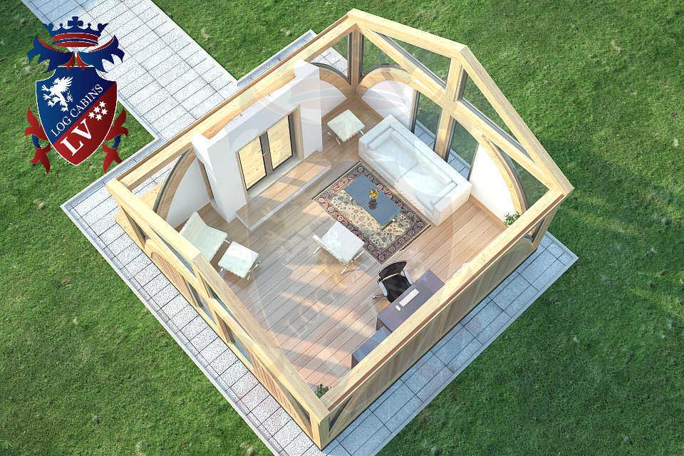 SunShine Clock House 6.0m x 4.0m   20