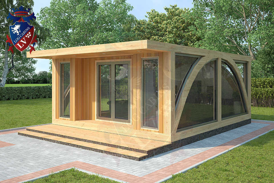 The new sunshine garden office   log cabins lv blog