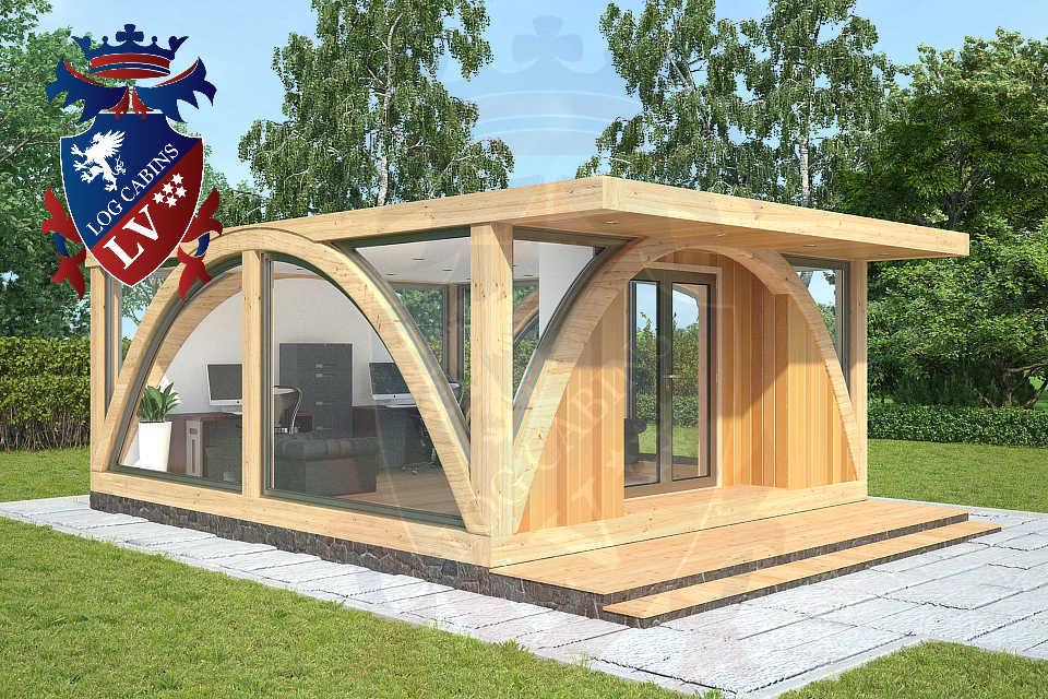 Timber Frame Glulam Offices