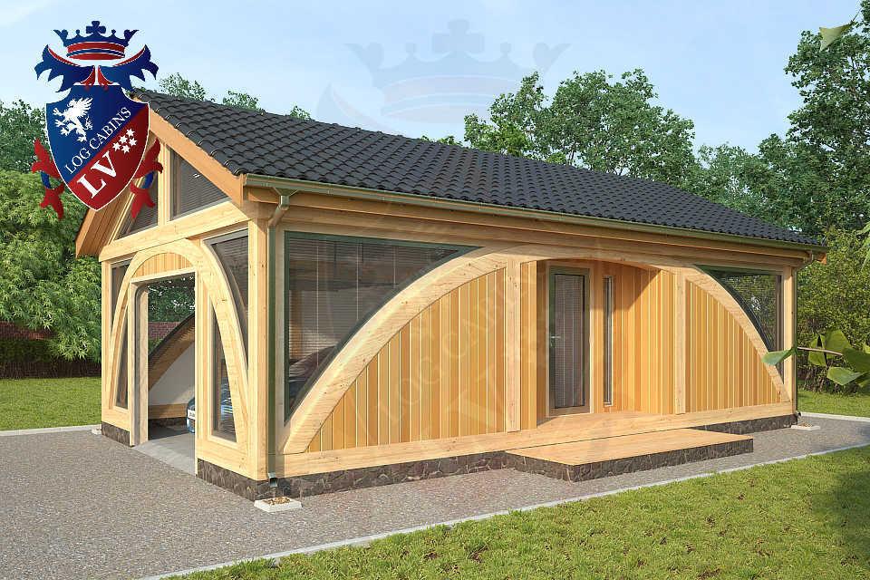 SunShine Glulam Insulated Garage  5.5m x 9.0m 11