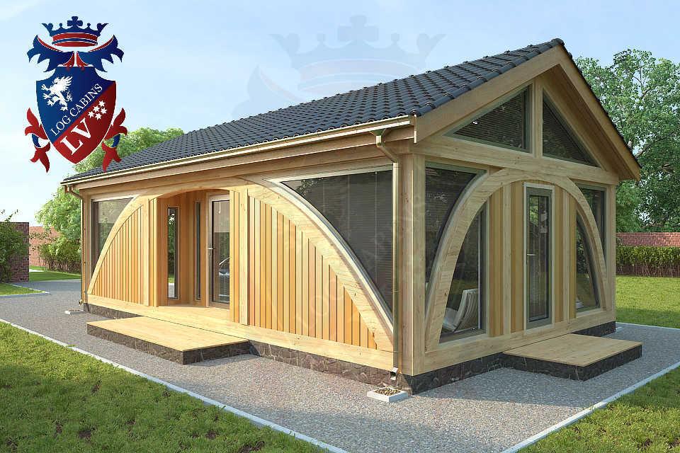 SunShine Glulam Insulated Garage  5.5m x 9.0m 26