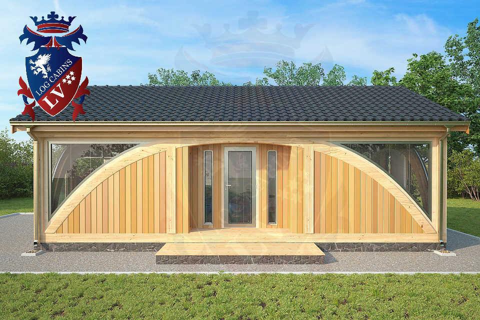 SunShine Glulam Insulated Garage  5.5m x 9.0m 29