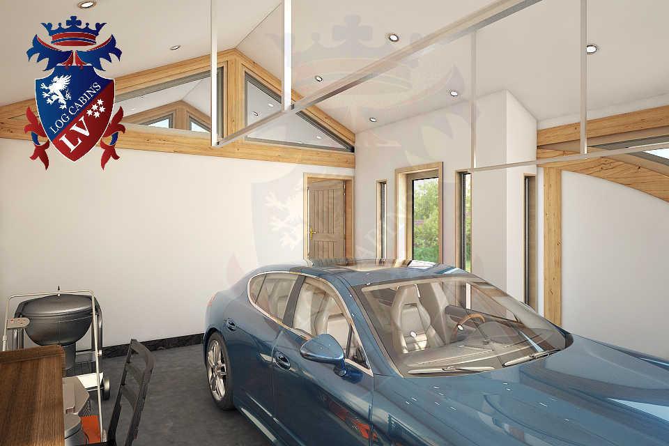 SunShine Glulam Insulated Garage  5.5m x 9.0m 32