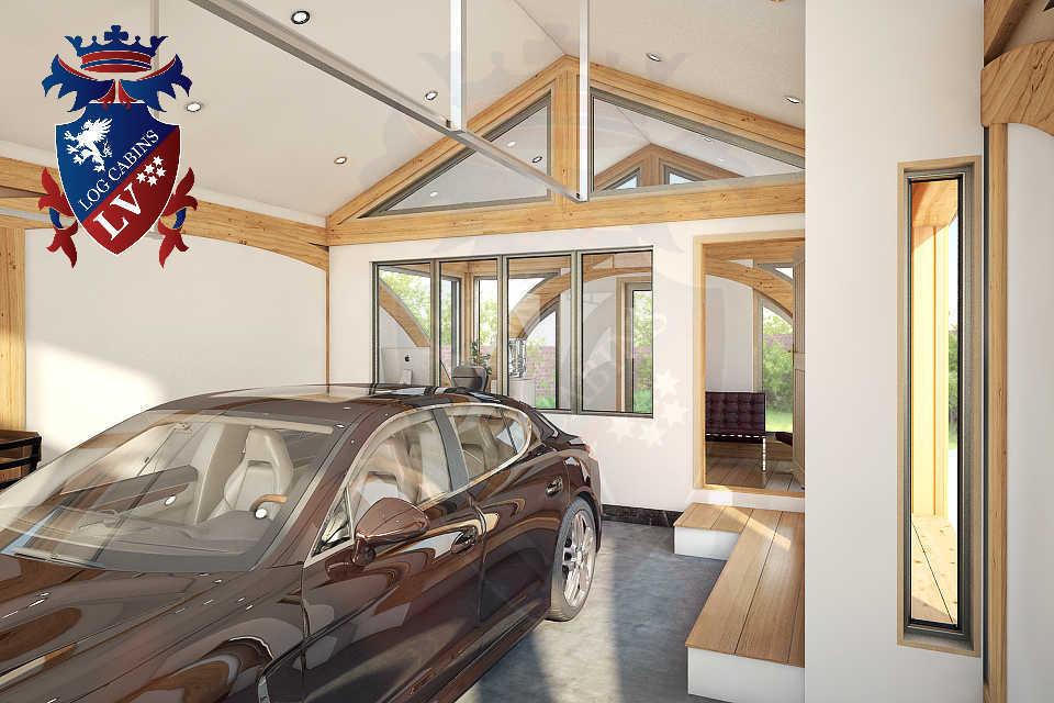 SunShine Glulam Insulated Garage  5.5m x 9.0m 35