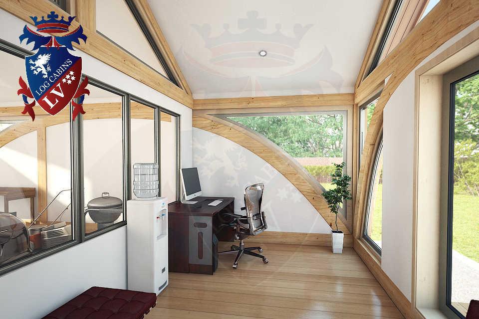 SunShine Glulam Insulated Garage  5.5m x 9.0m 38