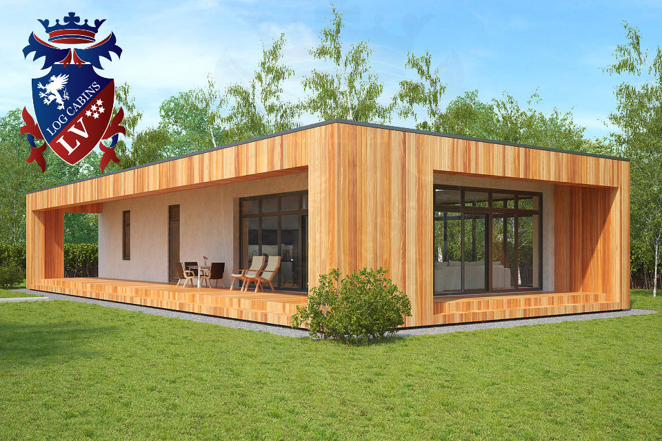 High quality timber offices archives log cabins lv blog for Garden office design