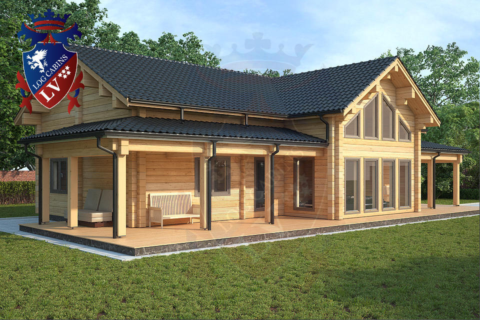 glulam log cabins