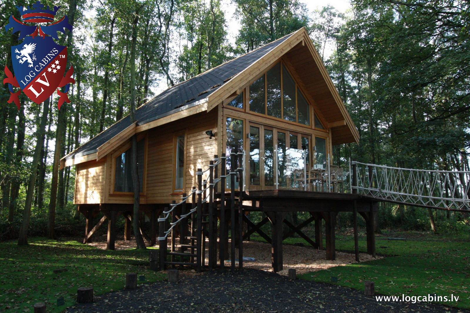 Timber Frame Buildings by  log cabins LV   06
