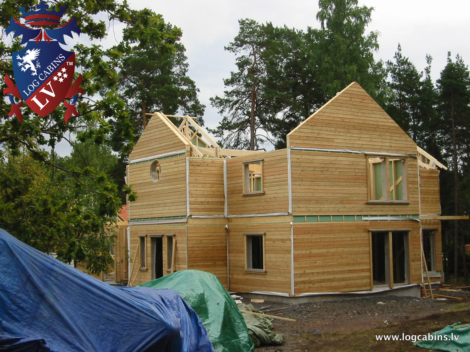Timber Frame Buildings by  log cabins LV   09