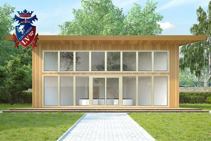 Timber Frame Contemporary Buildings  0392