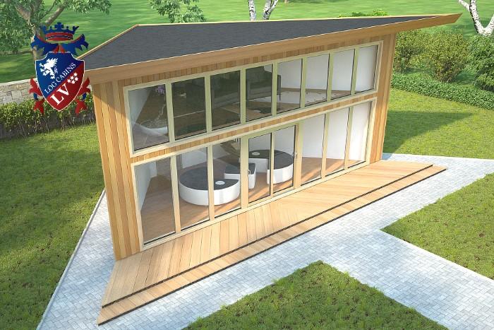 Timber Frame Contemporary Buildings  1172