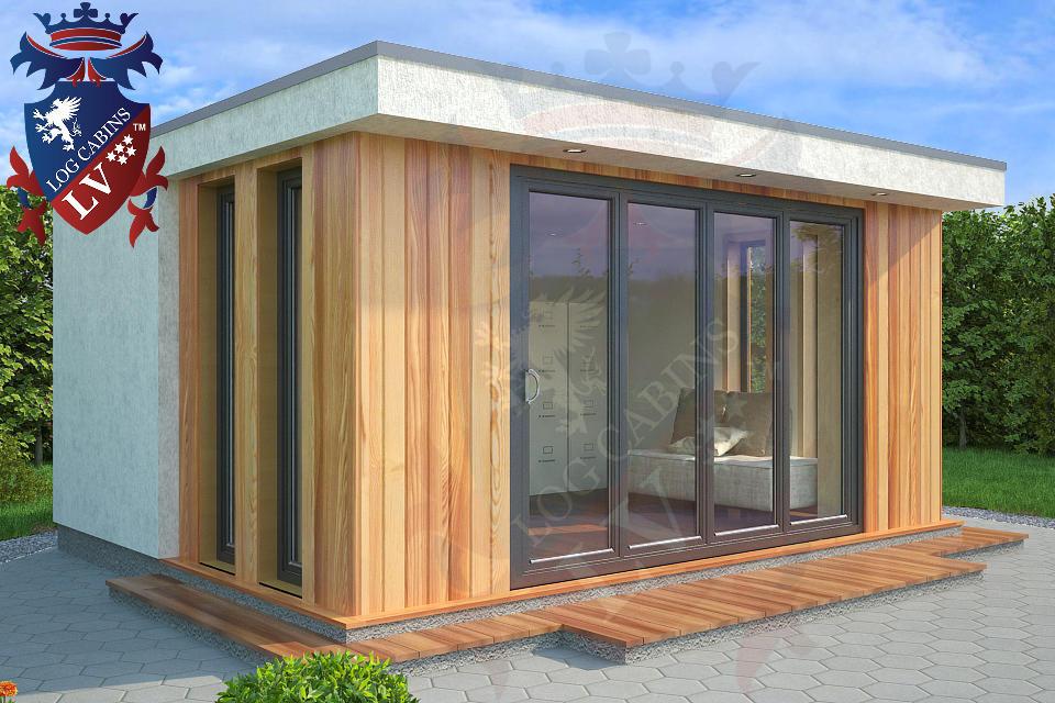 Timber Frame Garden Studios-Offices 1