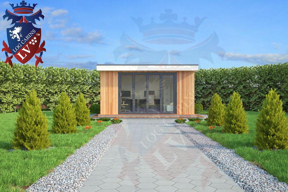 Timber Frame Garden Studios-Offices
