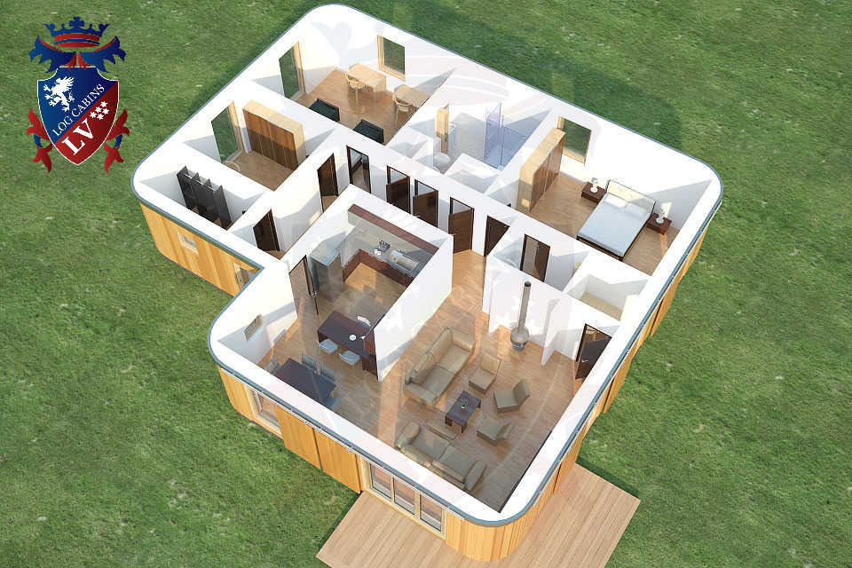 Timber Frame Highly Insulated Passive Bungalows   05