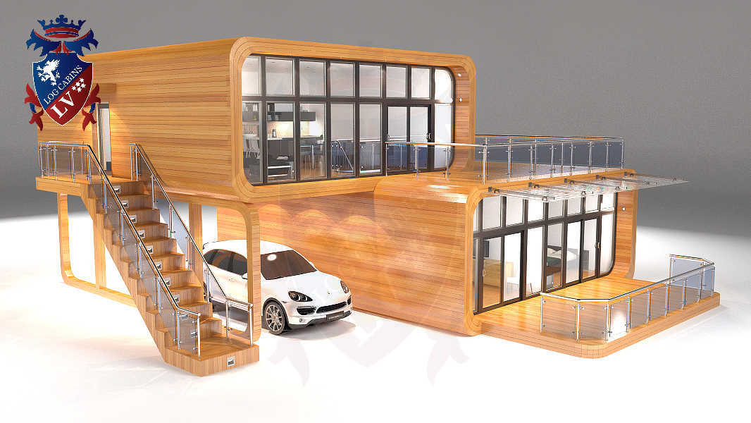 Timber Frame Houses  043