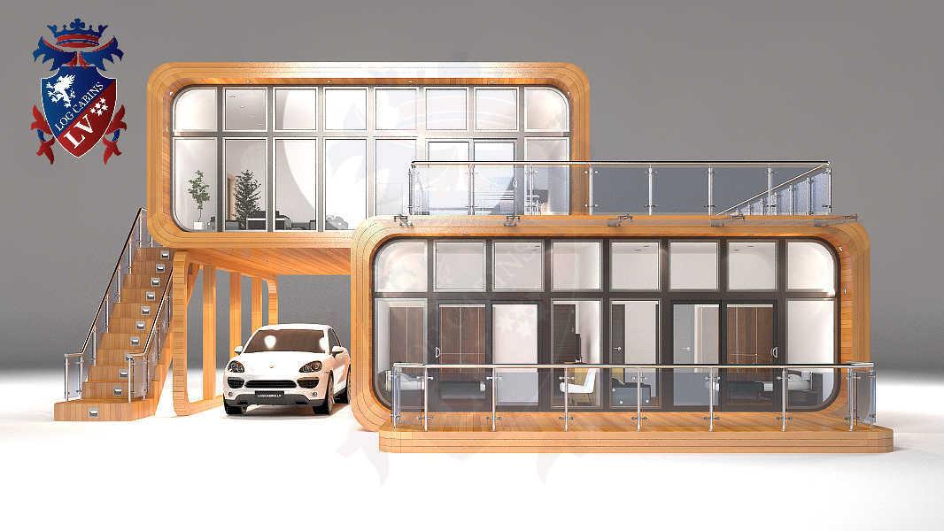 Timber Frame Houses  081