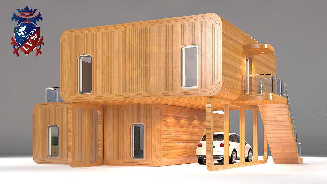 Timber Frame Houses  119