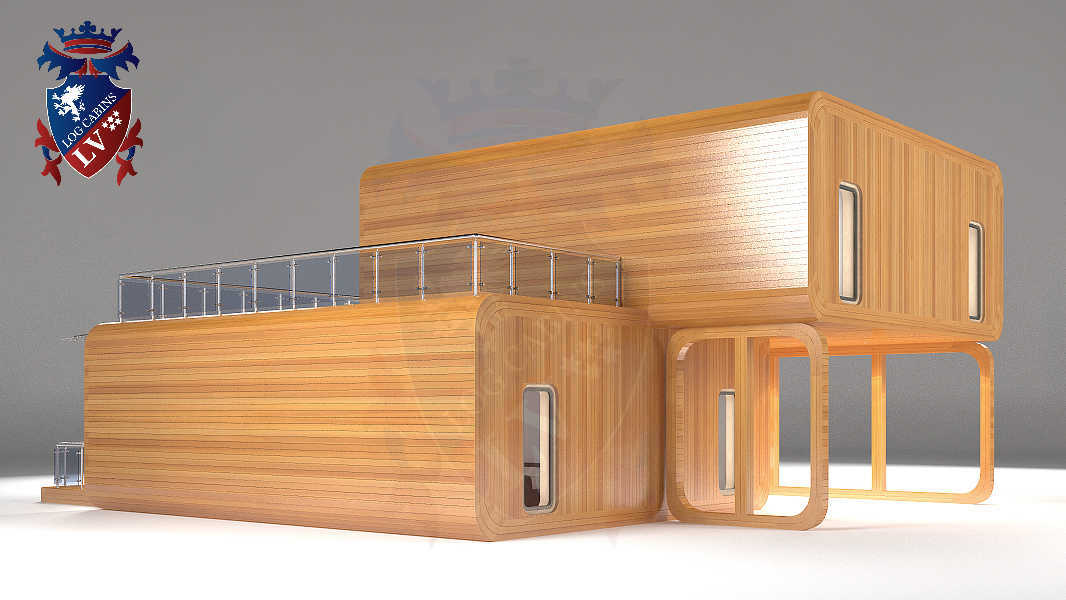 Timber Frame Houses  157