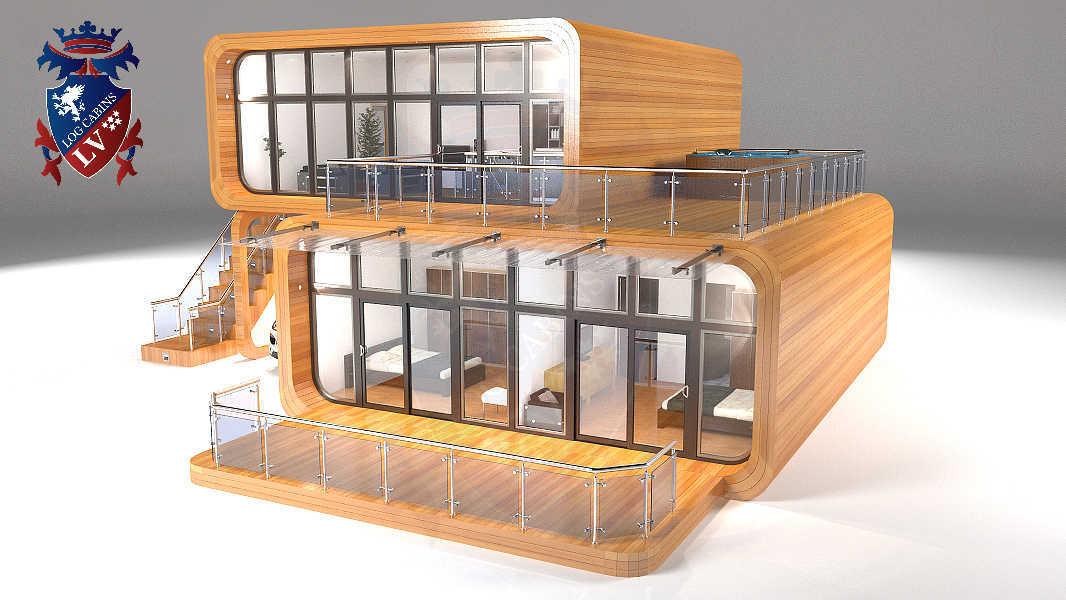Timber Frame Houses  271