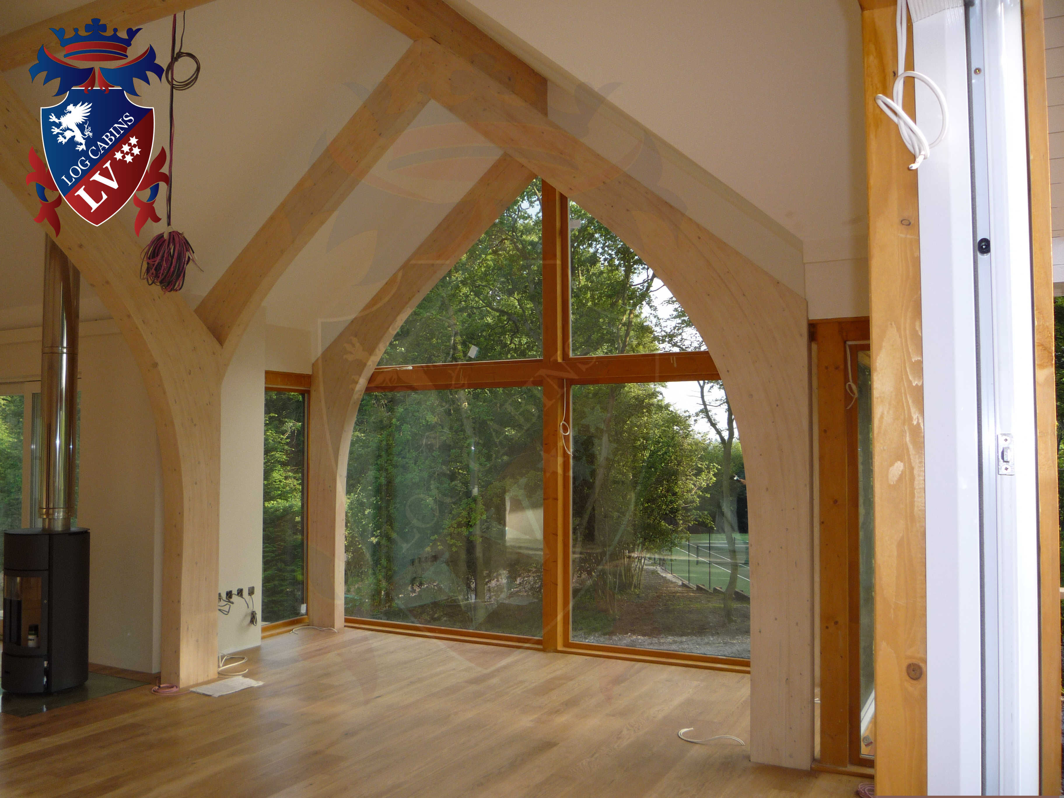 Timber Frame Housing- Log Cabins  13