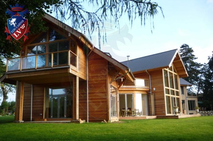 Timber Frame Housing- Log Cabins  15