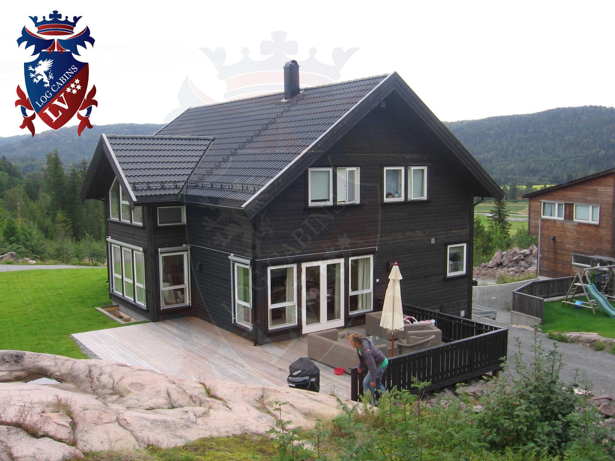 Timber Frame Housing- Log Cabins  25