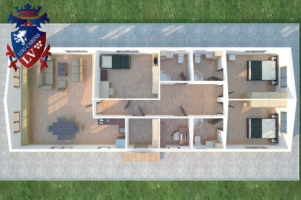 Timber Frame Kits-Mobile Homes 15
