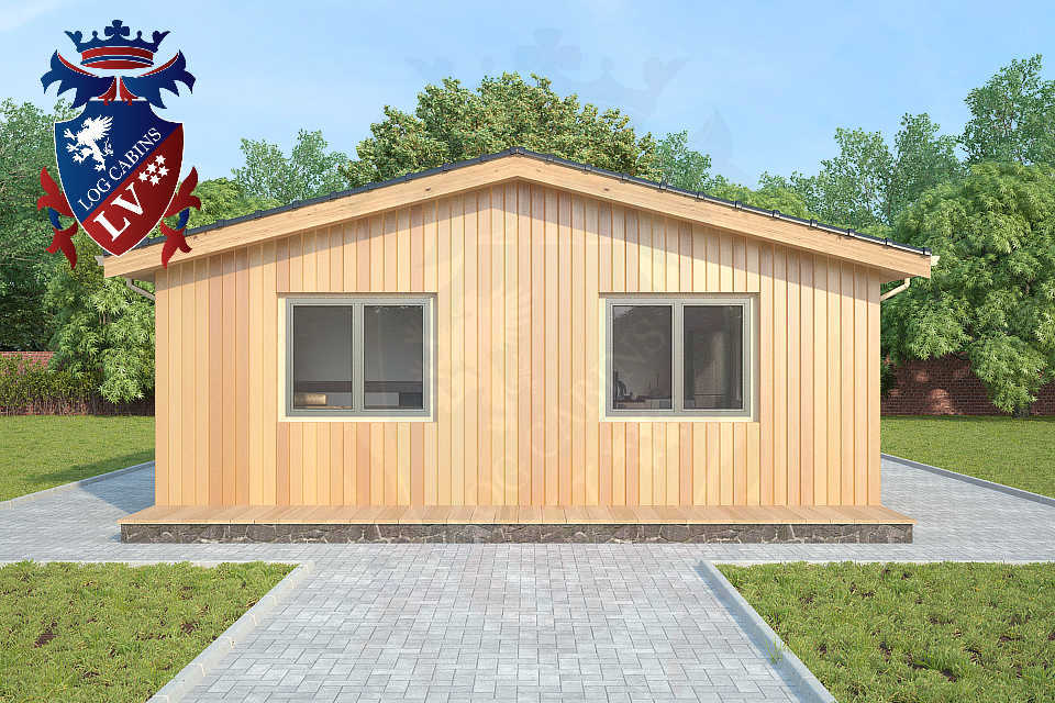 Timber Frame Residential Park Home 3 Bedrooms 6.7m x 18.0m  34