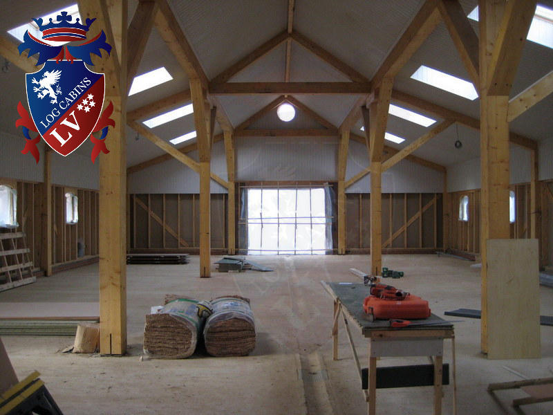 timber frame stables