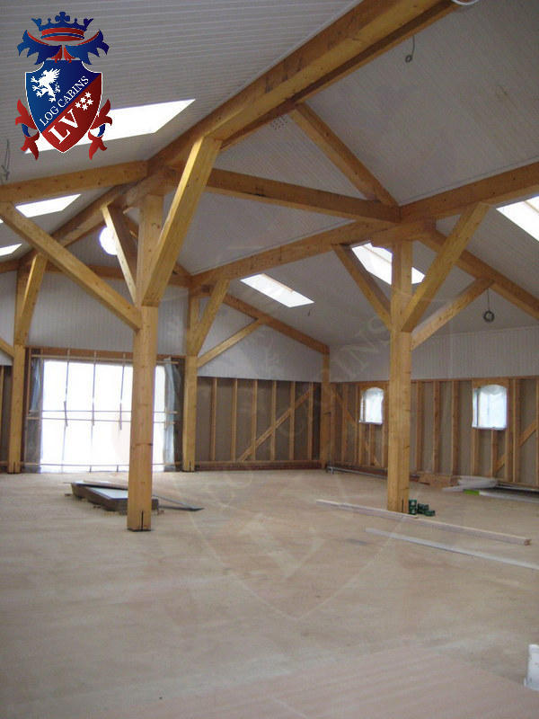 Timber Frame Stables 2015 03