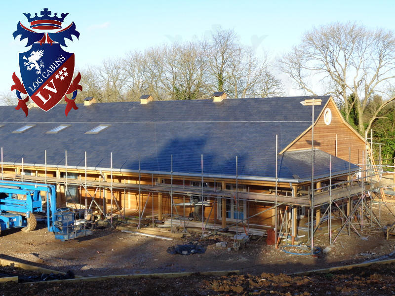 Timber Frame Stables 2015 04