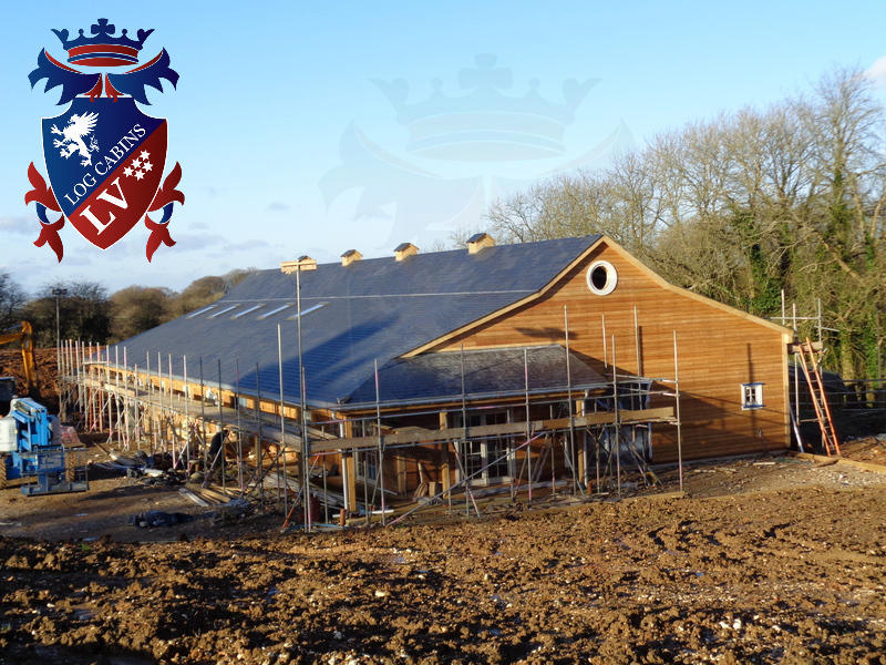 Timber Frame Stables 2015 06