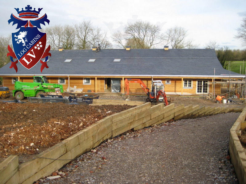 Timber Frame Stables 2015 11